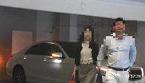 浮気調査3:対象者等乗車車両、○○に所在するファッションホテル駐車場に入庫。同ホテル内○○号室に入室。
